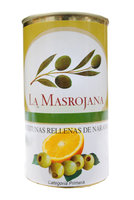 Manzanilla Oliven gef. Orange,  150g